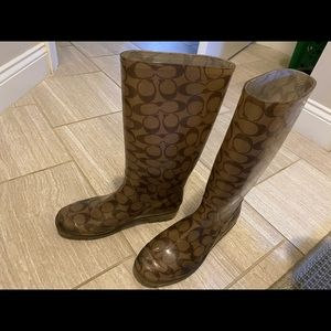 Coach Shoes - FALL SALE 🍁 Coach Rain boots